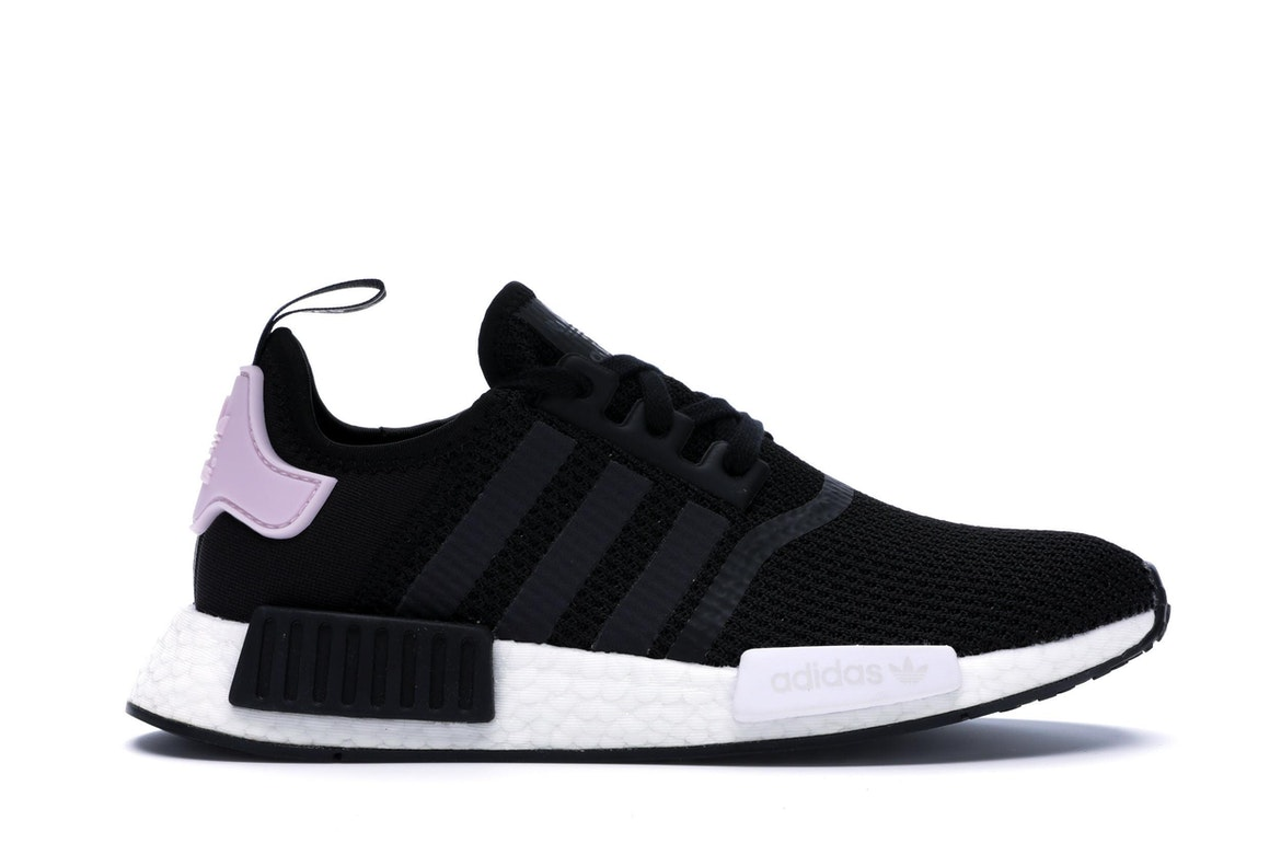 adidas NMD R1 Core Black Clear Pink (W