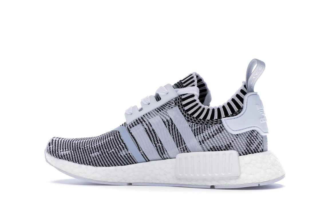 Adidas Nmd R1 Glitch Camo White Black By1911