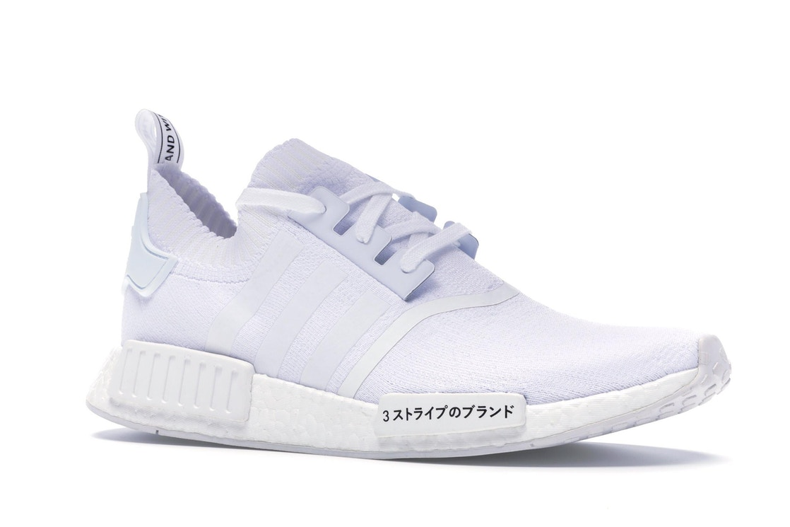 Adidas Nmd R1 Japan Triple White Bz0221