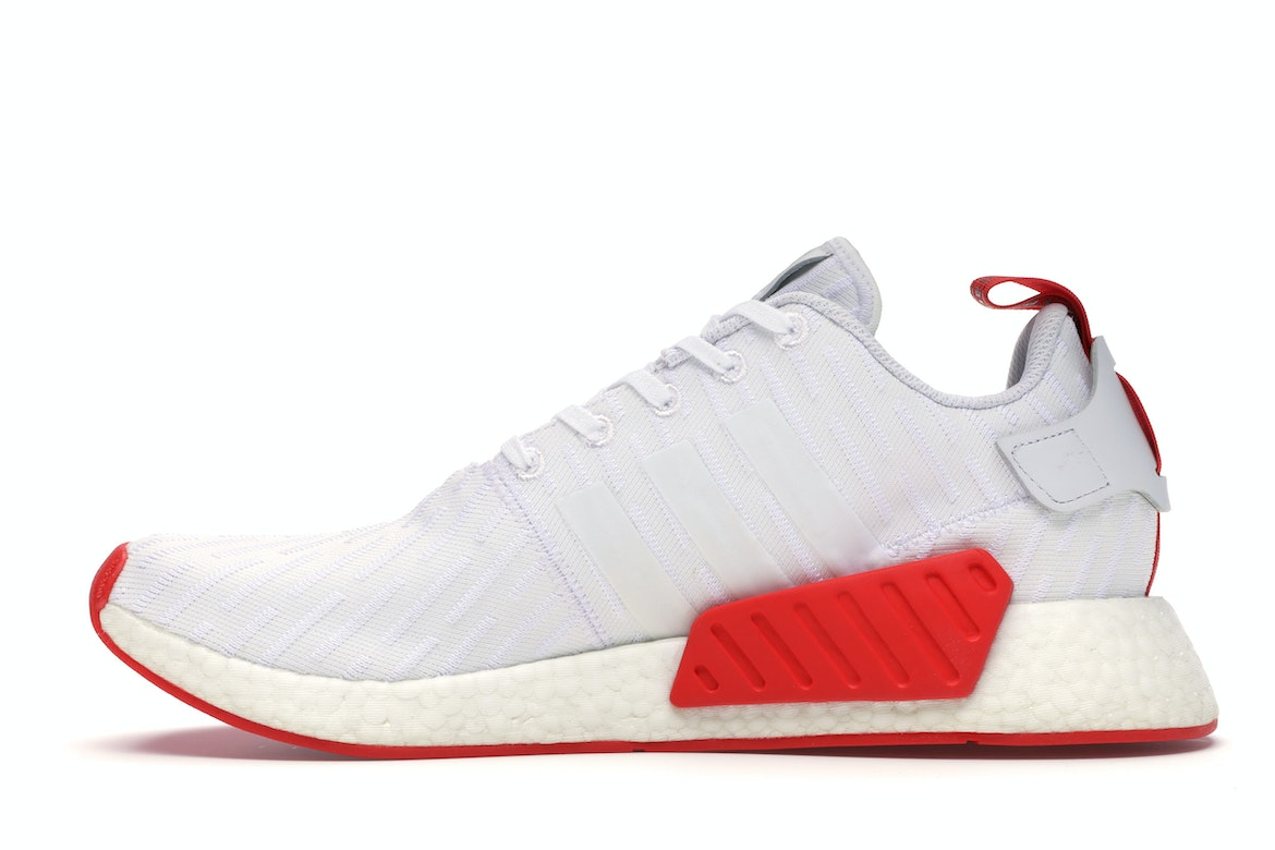 adidas NMD R2 White Core Red \