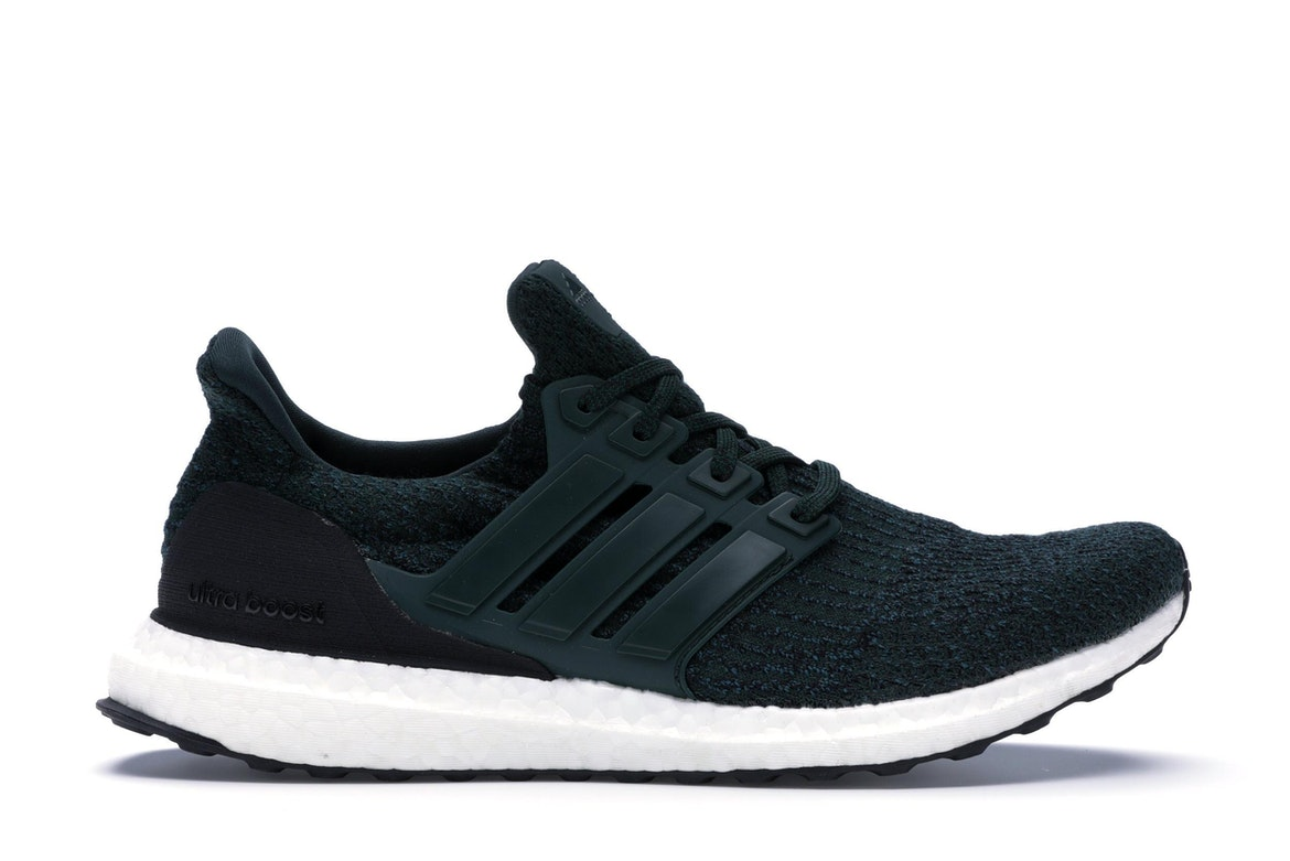 adidas ultra boost green and white