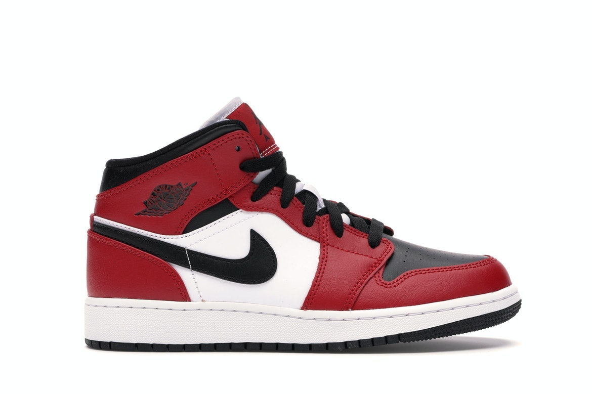 air jordan 1 gs rouge noir