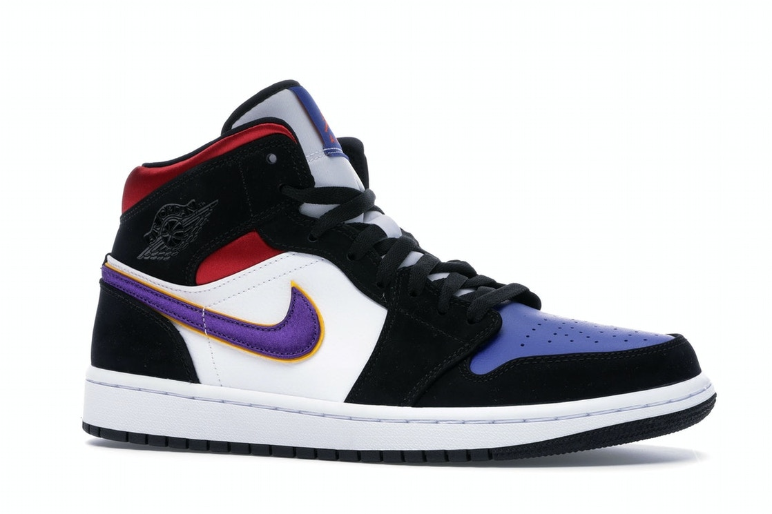 Jordan 1 Mid Lakers Top 3 852542 005