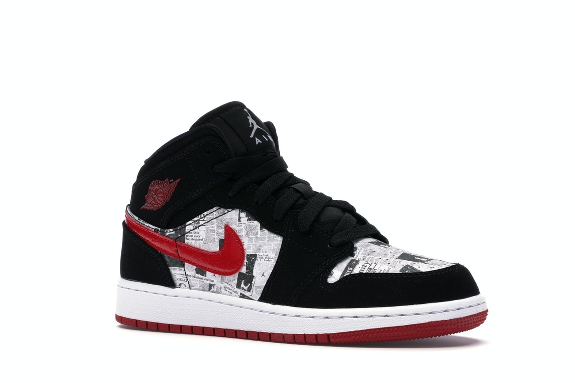 air jordan 1 newspaper