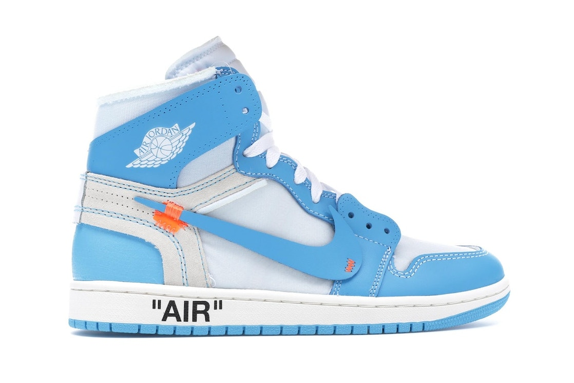 Jordan 1 Retro High Off-White University Blue - AQ0818-148