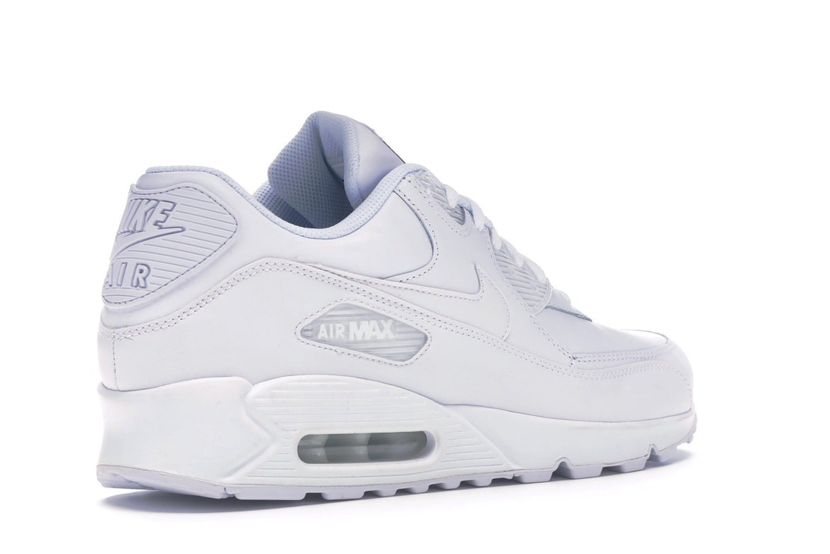 air max 90 uomo leather bianche