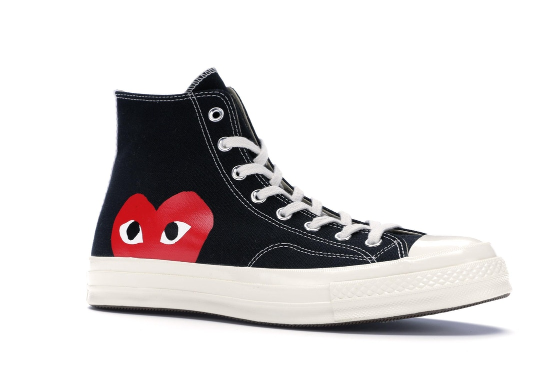 Tom Audreath Opresor casual  Converse Chuck Taylor All-Star 70s Hi Comme des Garcons PLAY Black - 150204C