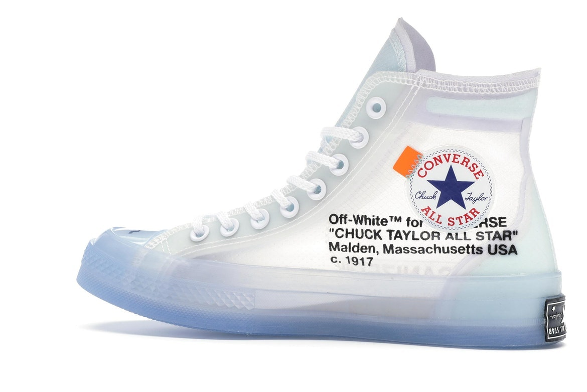 basket converse off white