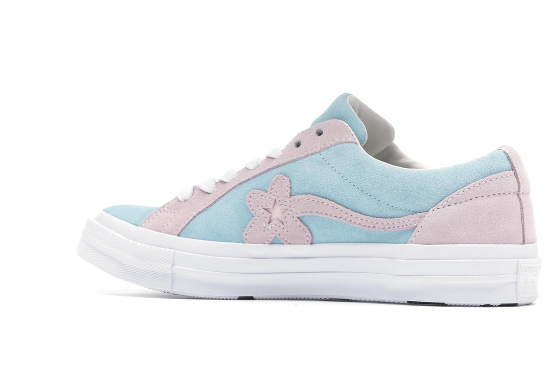 Converse One Star Ox Tyler The Creator Golf Le Fleur Light Blue Pink 162127c