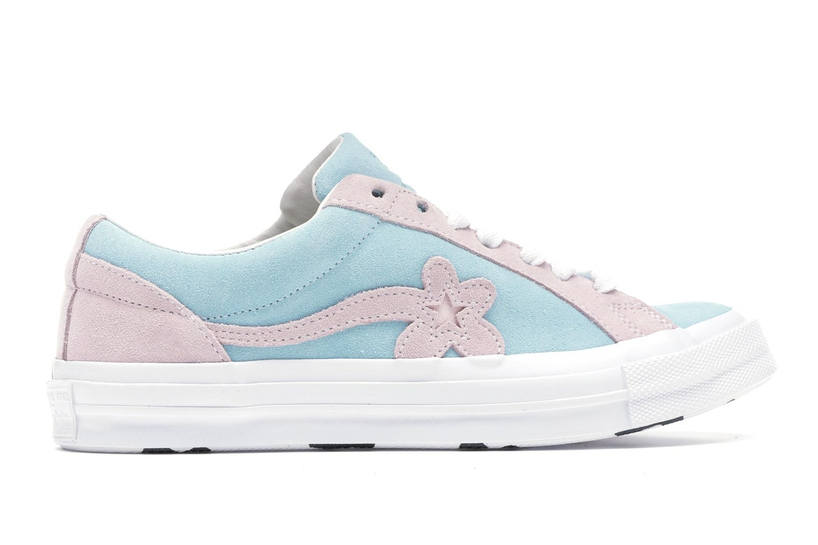 Converse One Star Ox Tyler the Creator Golf Le Fleur Light Blue Pink