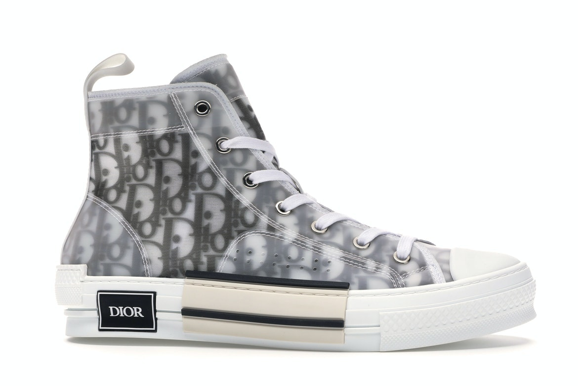 Dior B23 High Top Logo Oblique