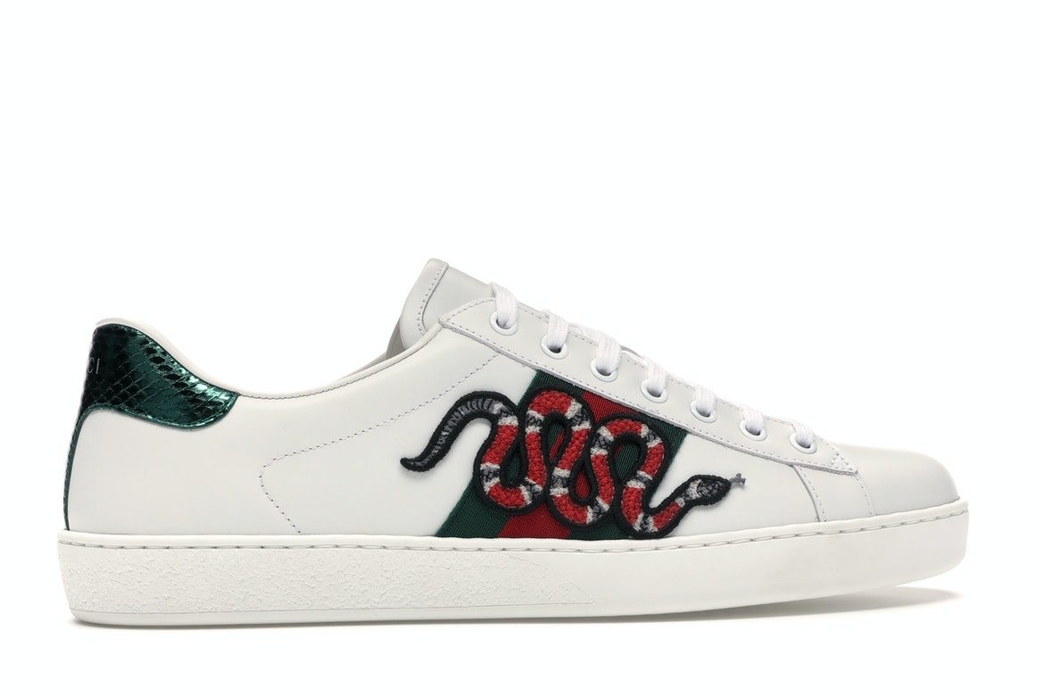 Gucci Ace Embroidered Snake - 456230