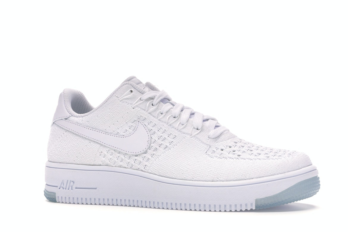 Nike Af1 Ultra Flyknit Low White/White