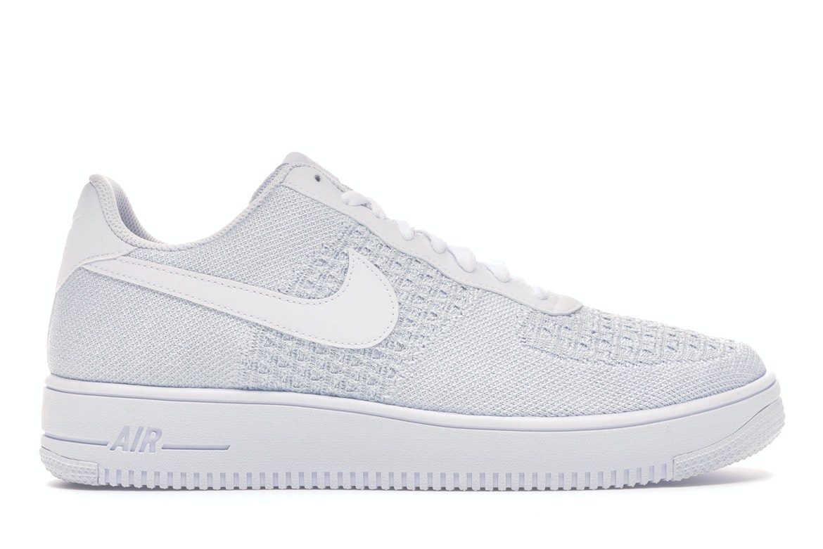 Nike Air Force 1 Flyknit 2 White Pure