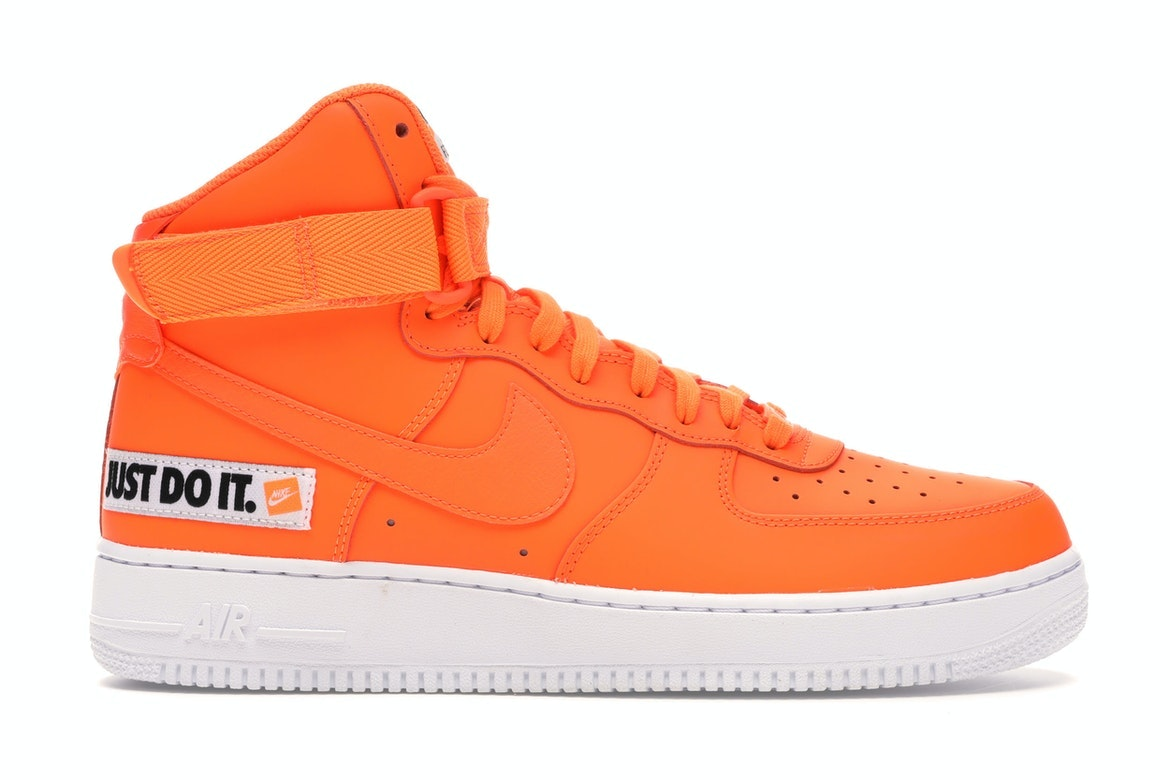 nike air force 1 orange
