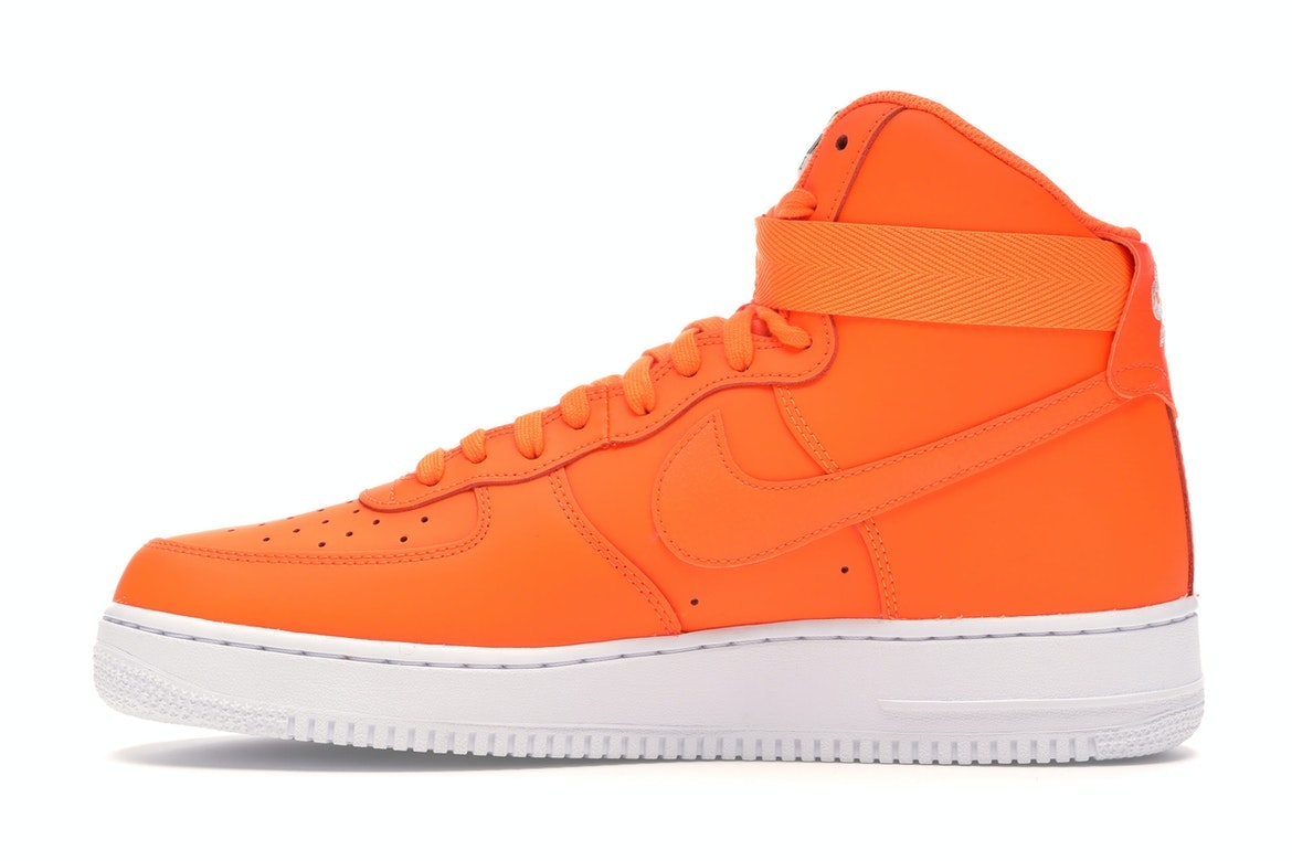 air force one just do it orange