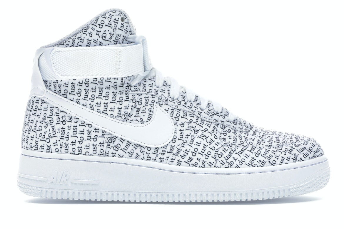air force just do it white