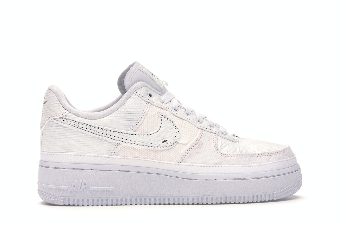 nike air force 1 with black tick