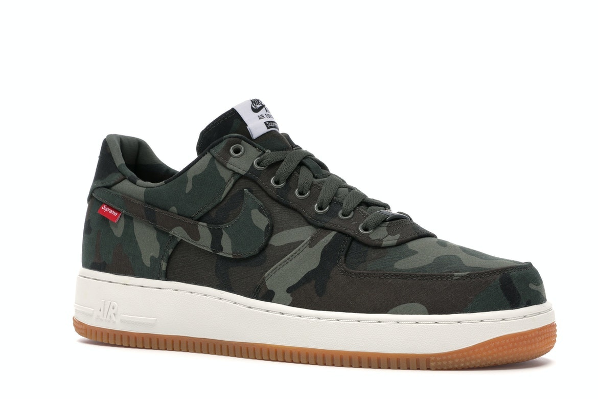 Nike Air Force 1 Low Supreme Camouflage