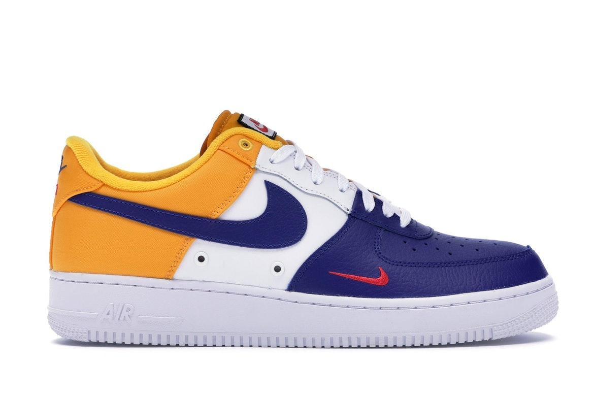 air force 1 bleu jaune
