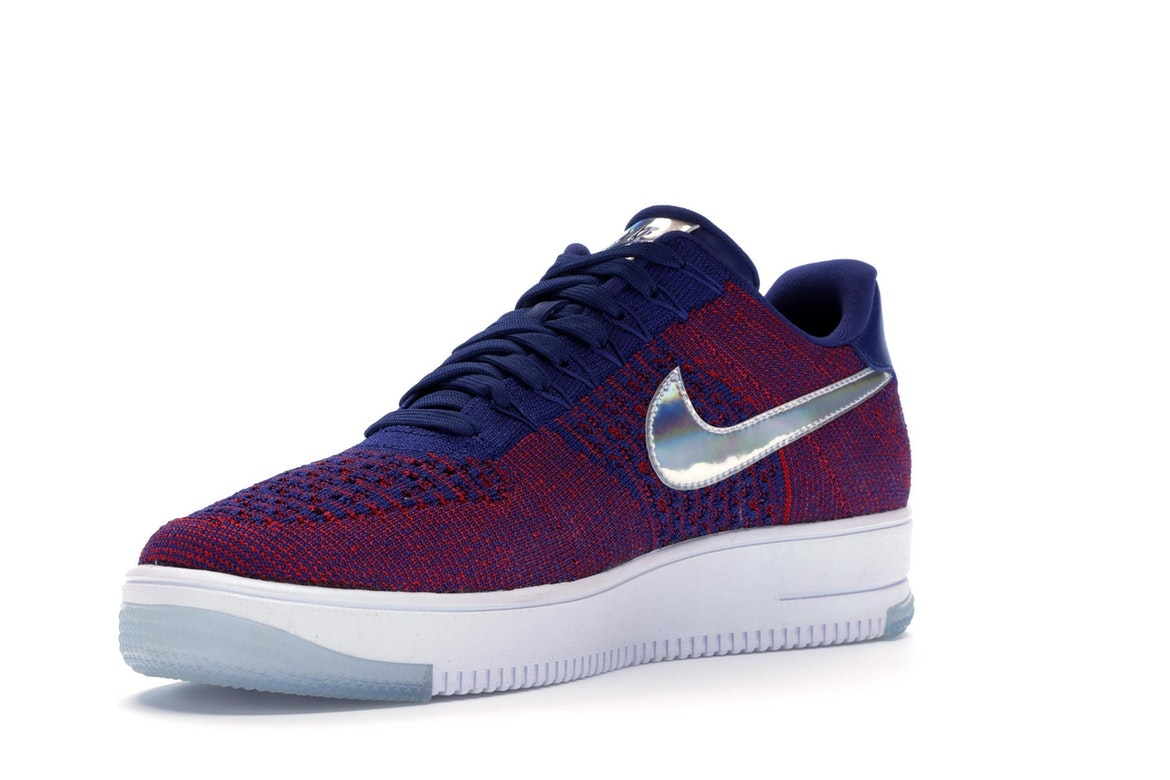 Nike Air Force 1 Flyknit spento