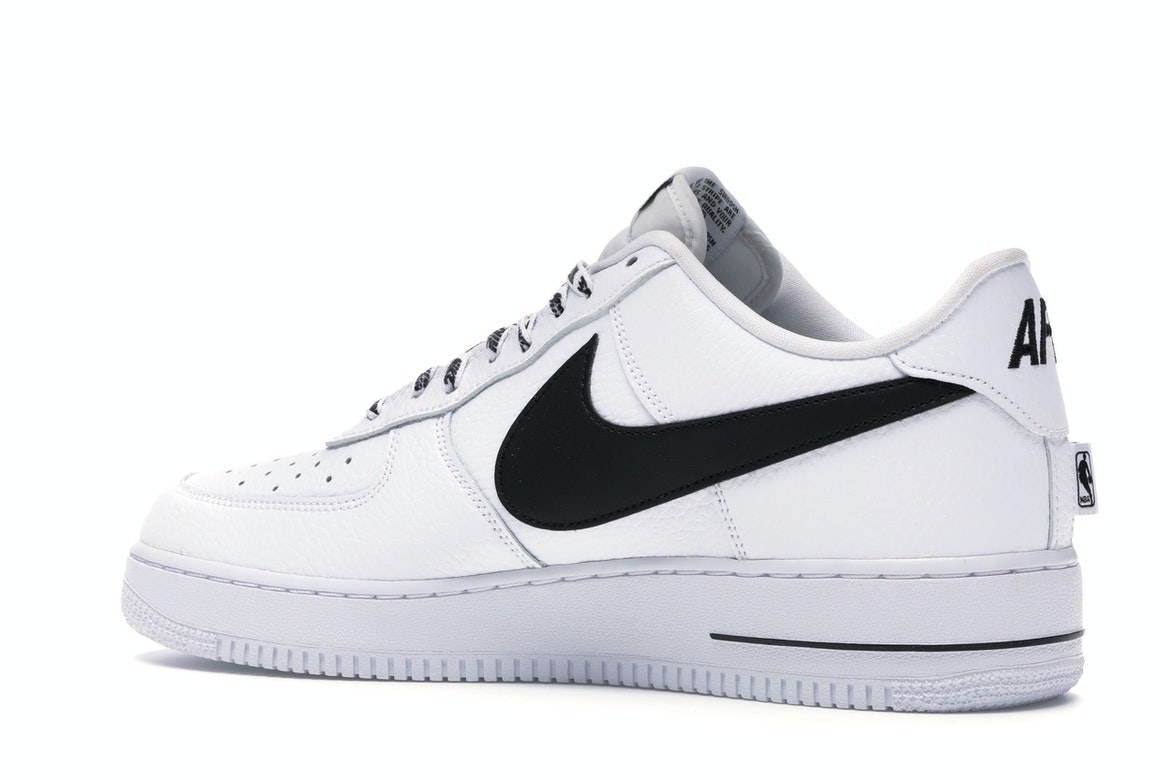 air force 1 bianche e nere nba