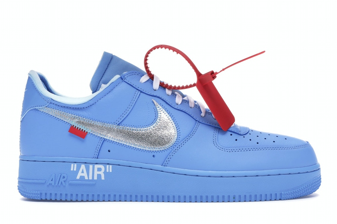 Nike Air Force 1 Low Off White Mca University Blue Ci1173 400