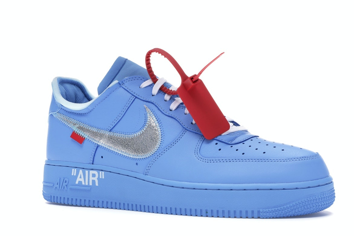 off white air force 1 blue release date