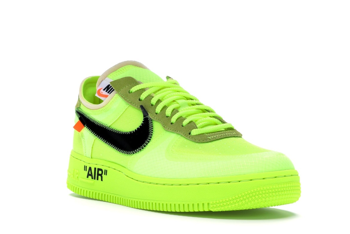 air force 1 verde neon