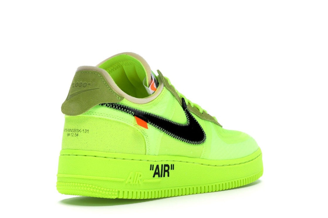 Nike Air Force 1 Low Off White Volt Ao4606 700