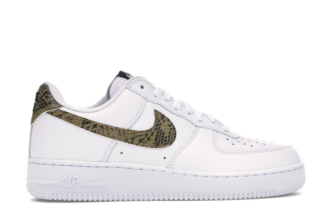 Nike Air Force 1 Low Retro Ivory Snake
