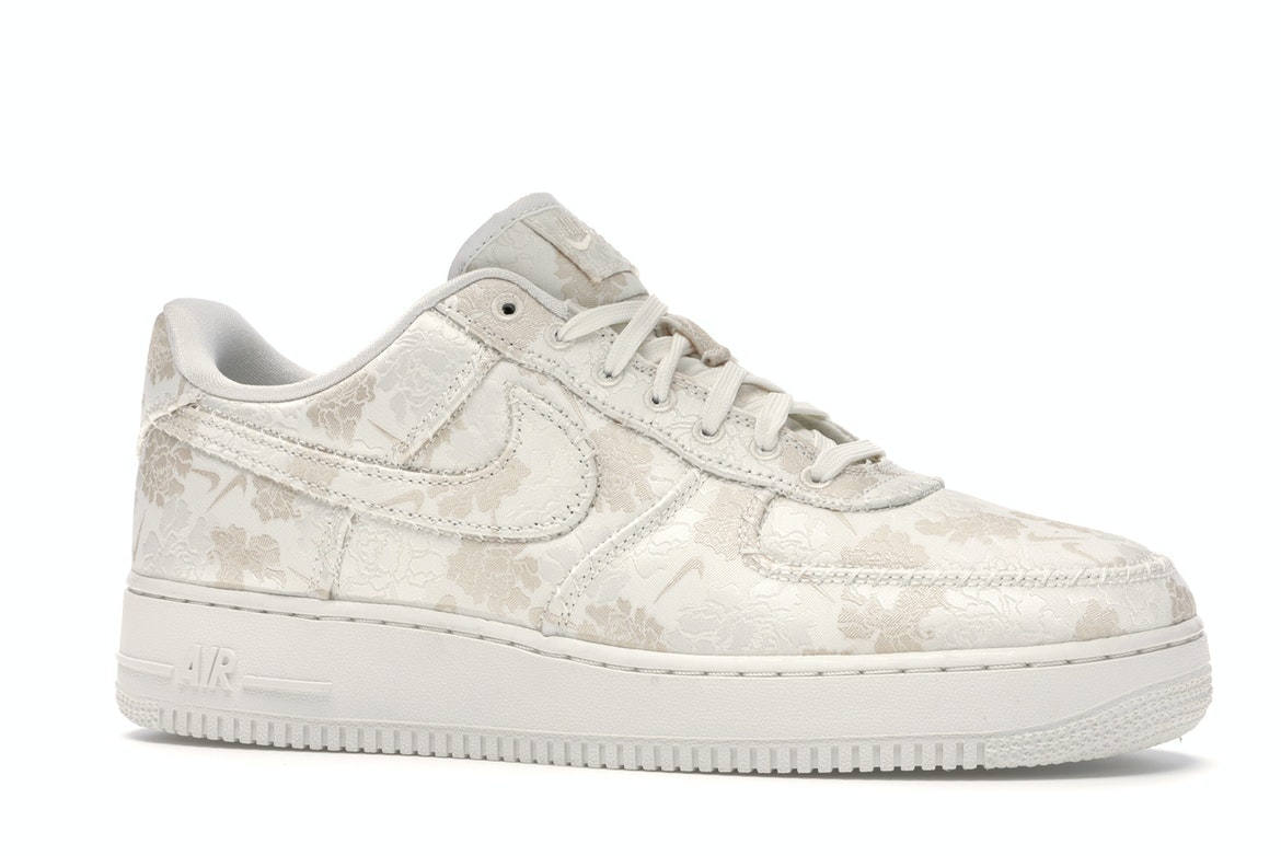Nike Air Force 1 Low Satin Floral Pale
