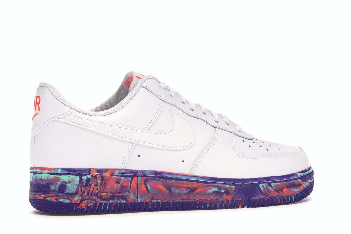 Nike Air Force 1 Low White Multi-Color