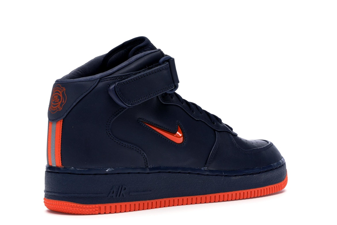 Nike Air Force 1 Mid NYC Obsidian