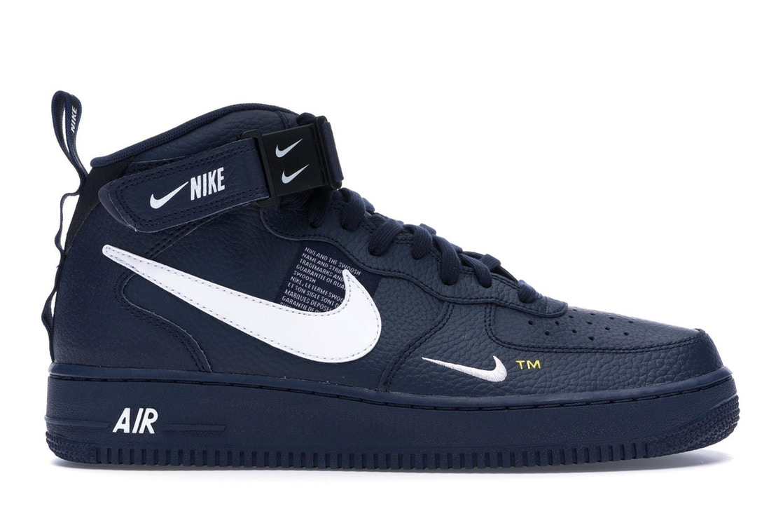 Nike Air Force 1 Mid Utility Obsidian 804609 403