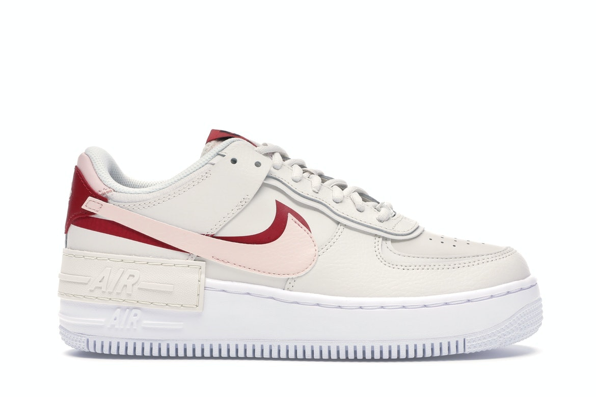 nike air force 1 shadow rouge