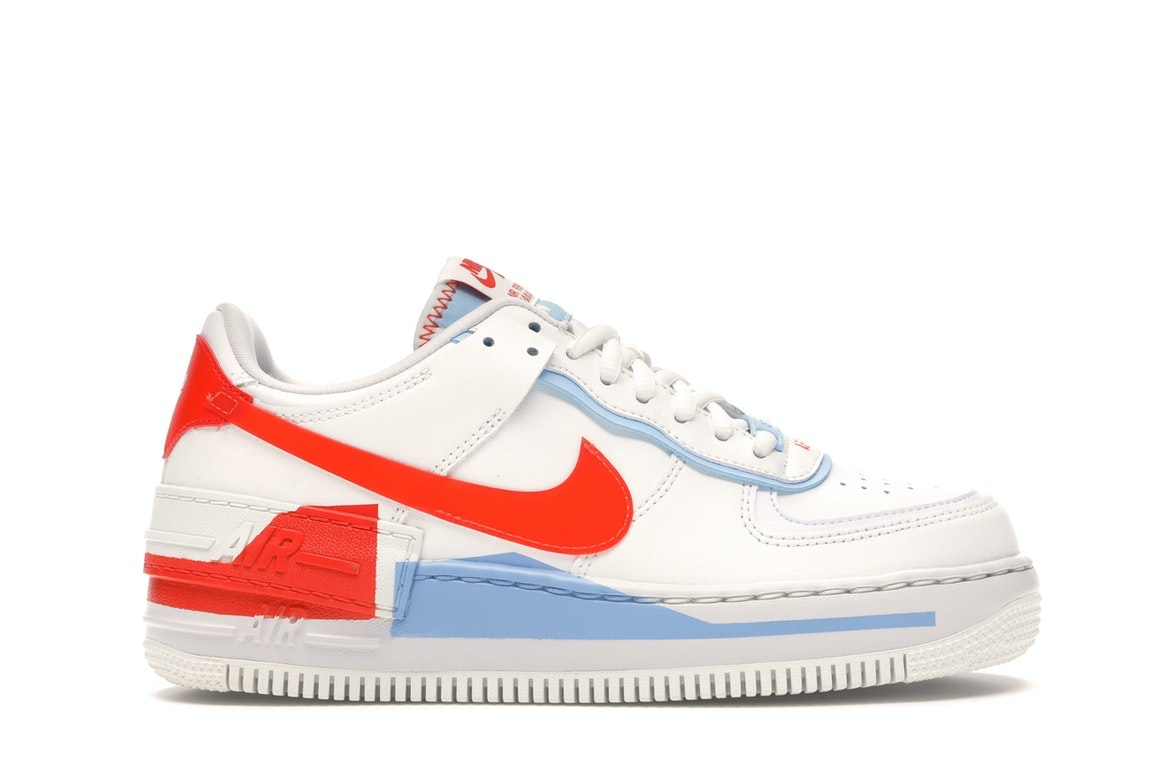 nike air force 1 orange et bleu