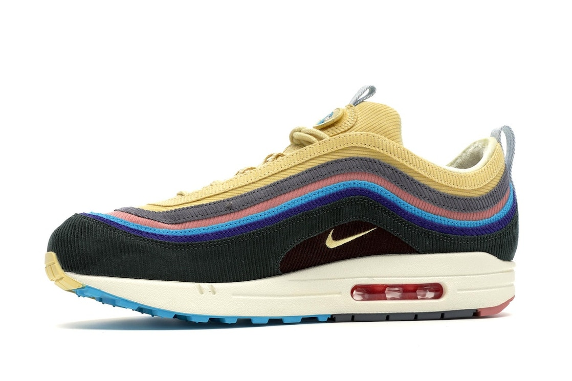 Platillo Inflar Turbulencia  Nike Air Max 1/97 Sean Wotherspoon (Extra Lace Set Only) - AJ4219-400