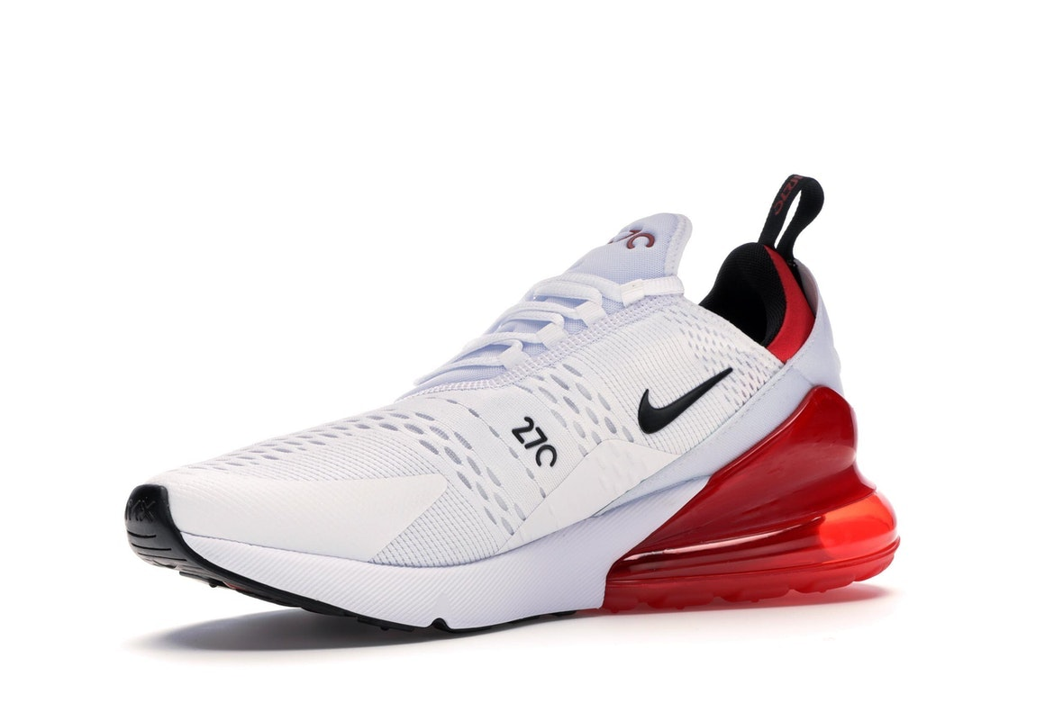 nike air max 270 womens red and white