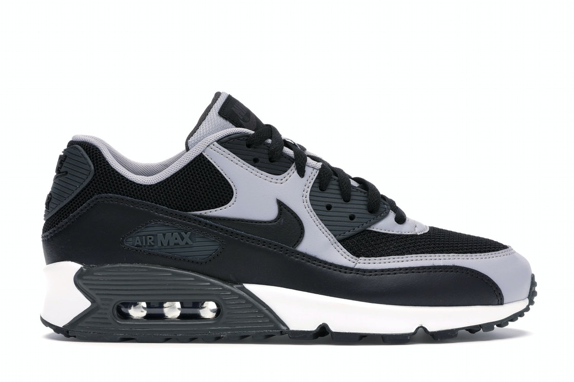 Nike Air Max 90 Black Wolf Grey 537384 053