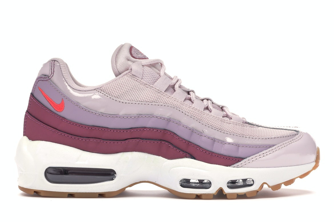 Nike Air Max 95 Barely RoseHot Punch Women's Running Shoes