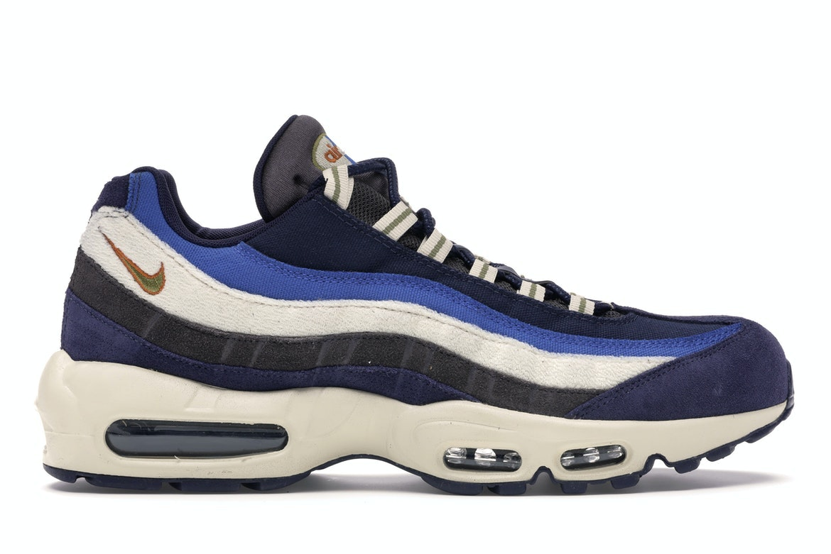 Nike Air Max 95 Blackened Blue Light