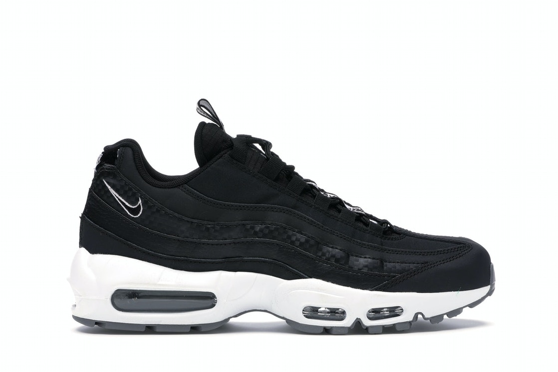Nike Air Max 95 Pull Tab Black White Aq4129 002