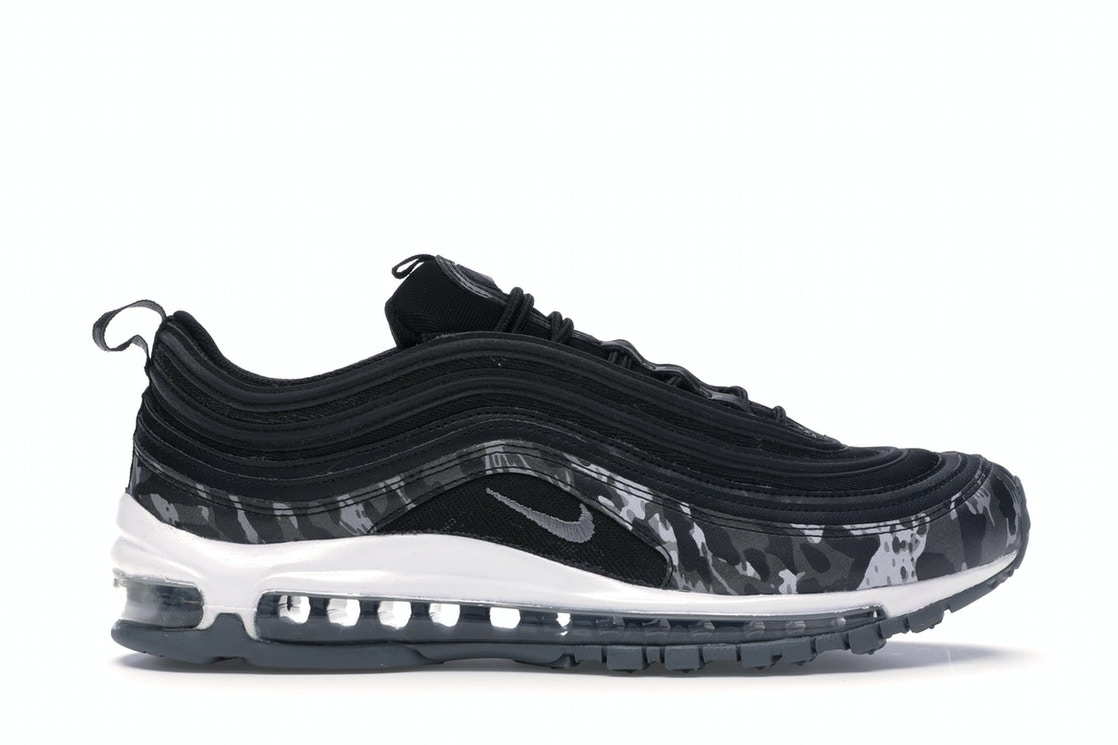 Nike Air Max 97 Camo Black Cool Grey W 917646 005