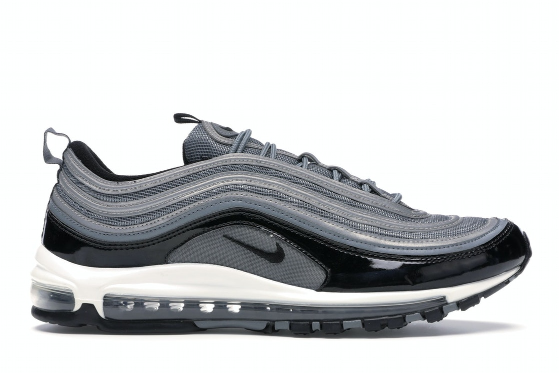 Nike Air Max 97 Cool Grey Black Patent 921826 010