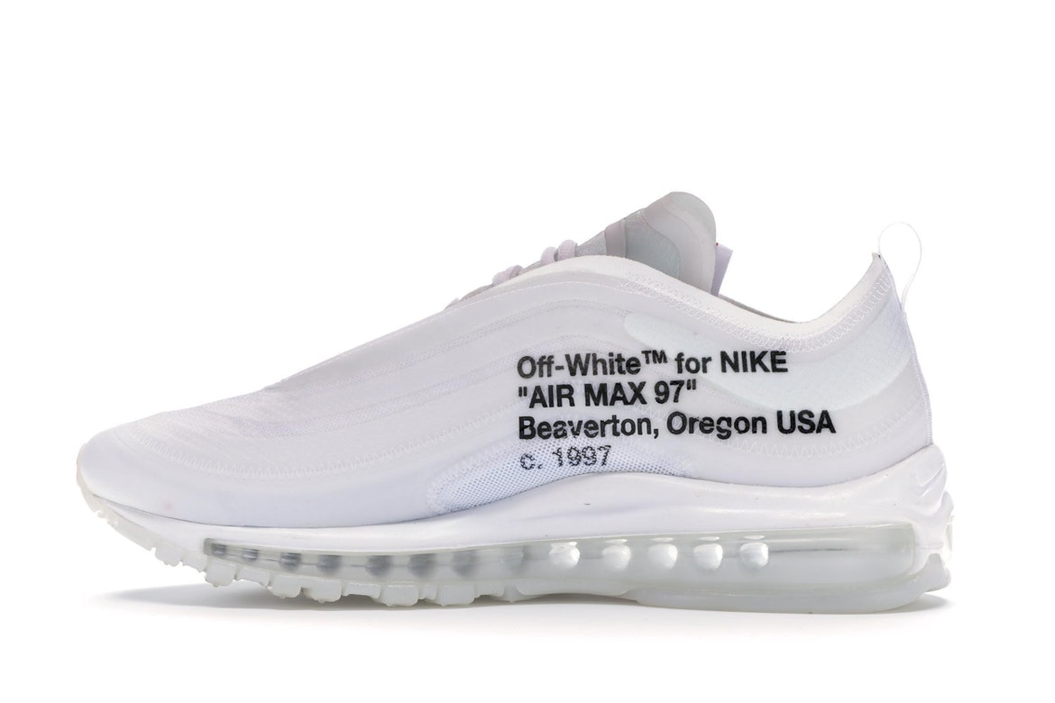 air max 97 off white bianche