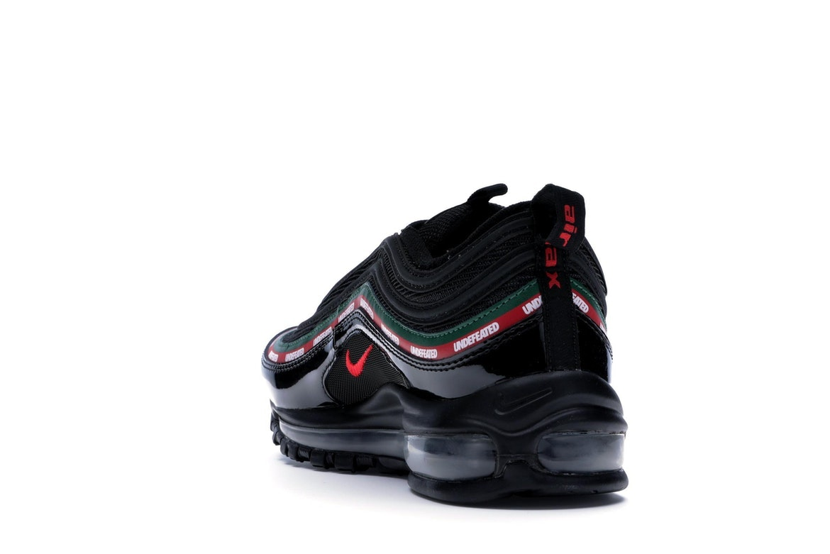 nike air 97 undefeated black