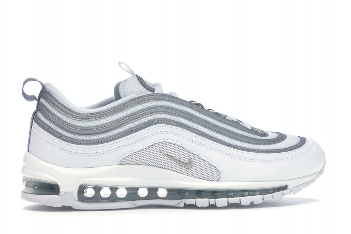 Nike Air Max 97 White Reflect Silver 921826 105