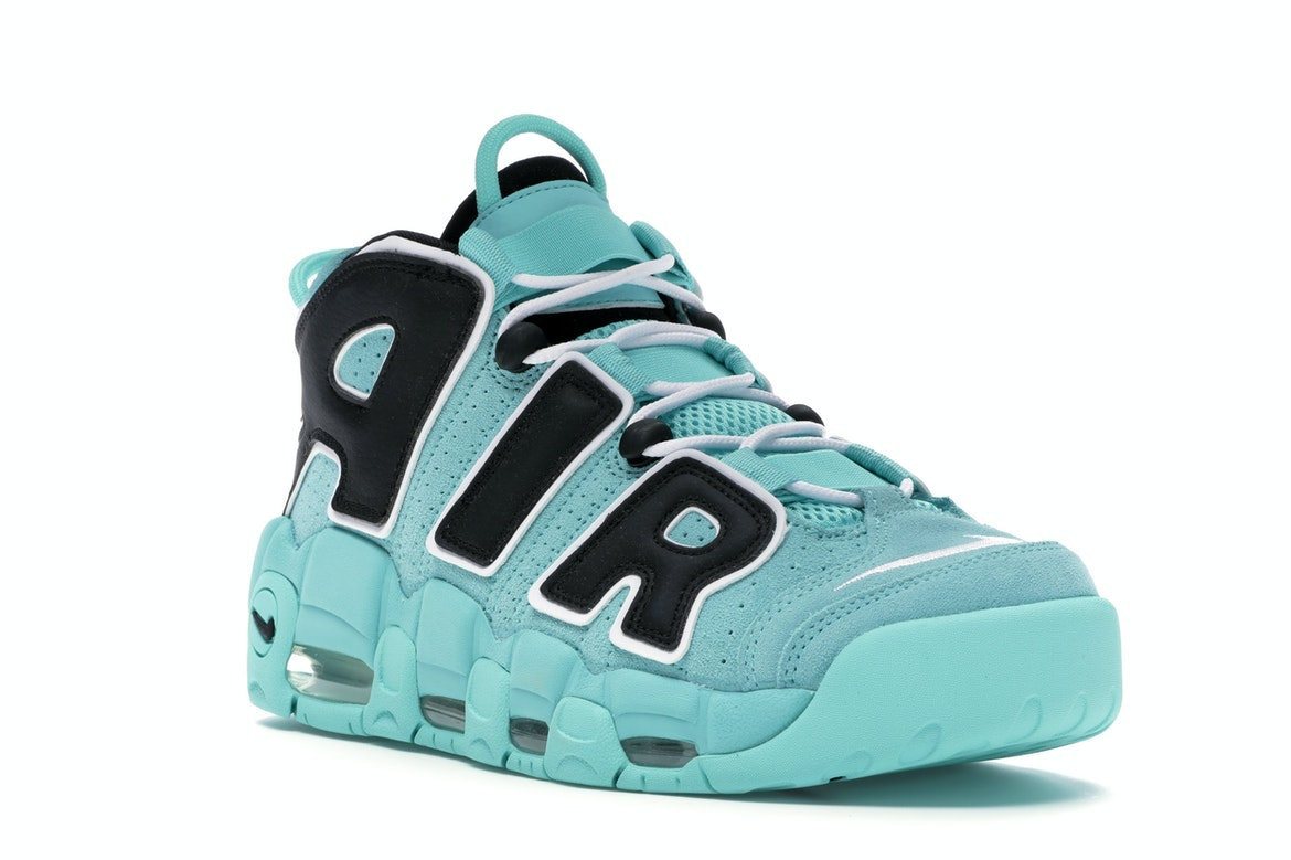 nike air more uptempo verde acqua