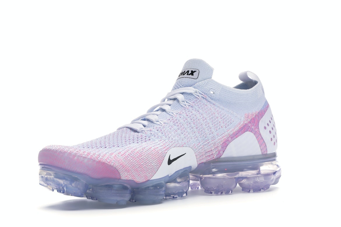 white and pink vapormax